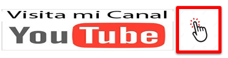 subscribete a mi canal de youtube